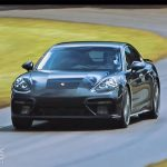 NEW Porsche Panamera hits the Goodwood hillclimb with Patrick Dempsey (+video)