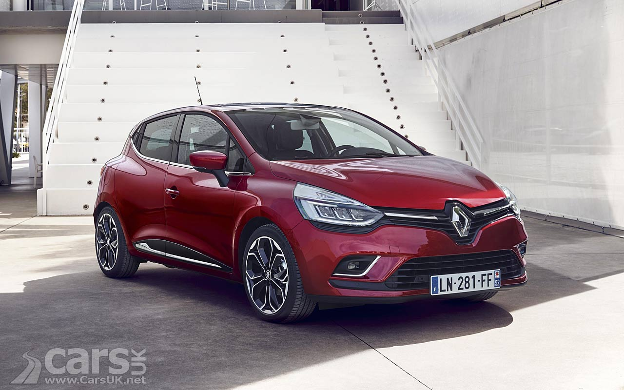 renault clio gets a facelift for 2017 on sale october. Black Bedroom Furniture Sets. Home Design Ideas