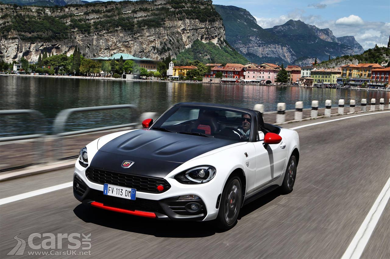 fiat 39 s abarth 124 spider will cost you from 29 565 cars uk. Black Bedroom Furniture Sets. Home Design Ideas