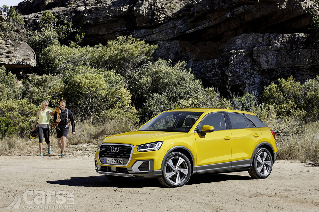 new audi q2 compact suv will cost from 20 230 in the uk cars uk. Black Bedroom Furniture Sets. Home Design Ideas