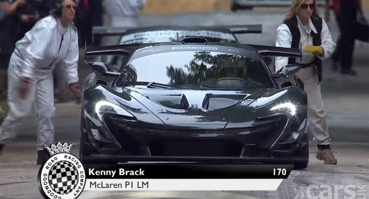 Photo McLaren P1 LM Goodwood hillclimb