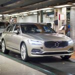 Volvo V90 Estate production starts – first CUSTOMER V90s roll off the line in Sweden