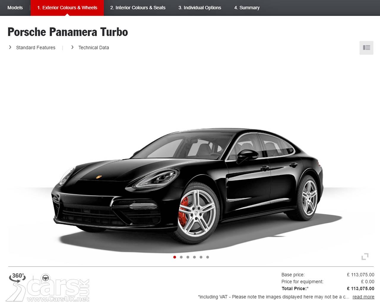 Porsche Car Configurator Uk