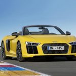New Audi R8 Spyder V10 open-top supercar goes on sale in the UK from £129,990