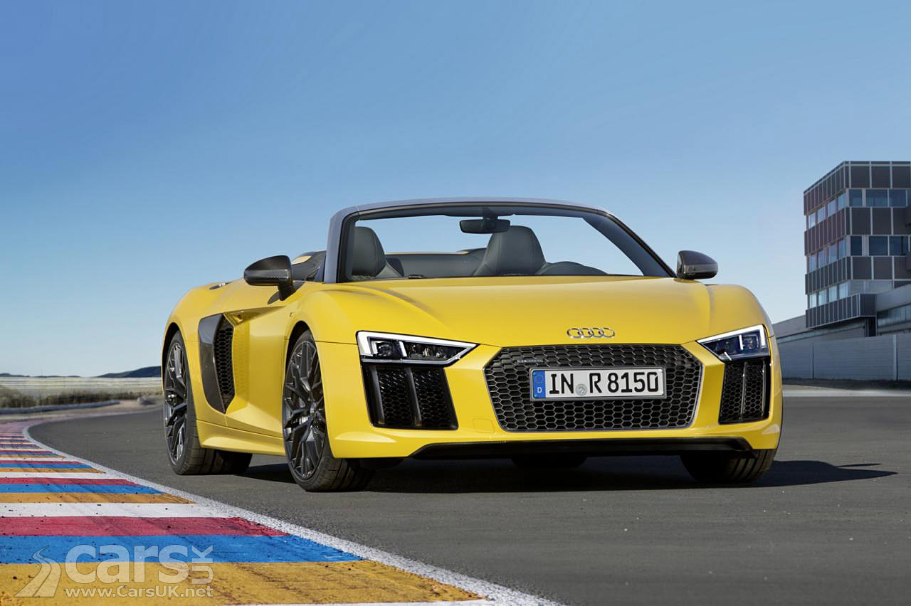 New Audi R8 Spyder V10 Open Top Supercar Goes On Sale In The UK From