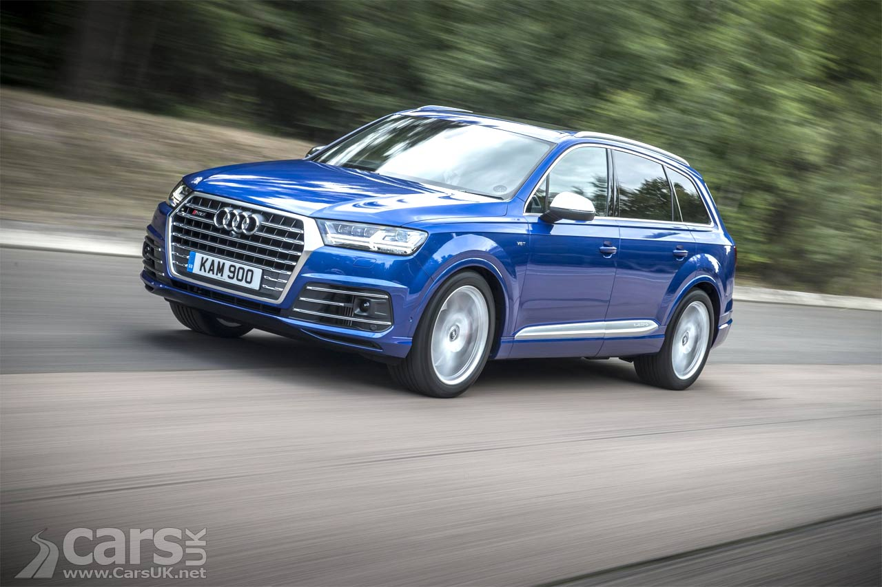 audi sq7 tdi suv now on sale in the uk from 70 970 cars uk. Black Bedroom Furniture Sets. Home Design Ideas