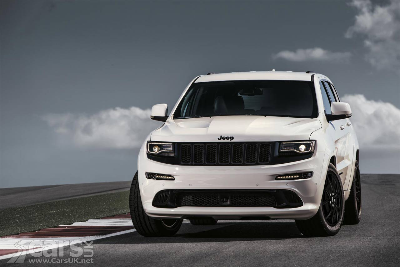 jeep grand cherokee gets titivated new grand cherokee srt night revealed cars uk. Black Bedroom Furniture Sets. Home Design Ideas