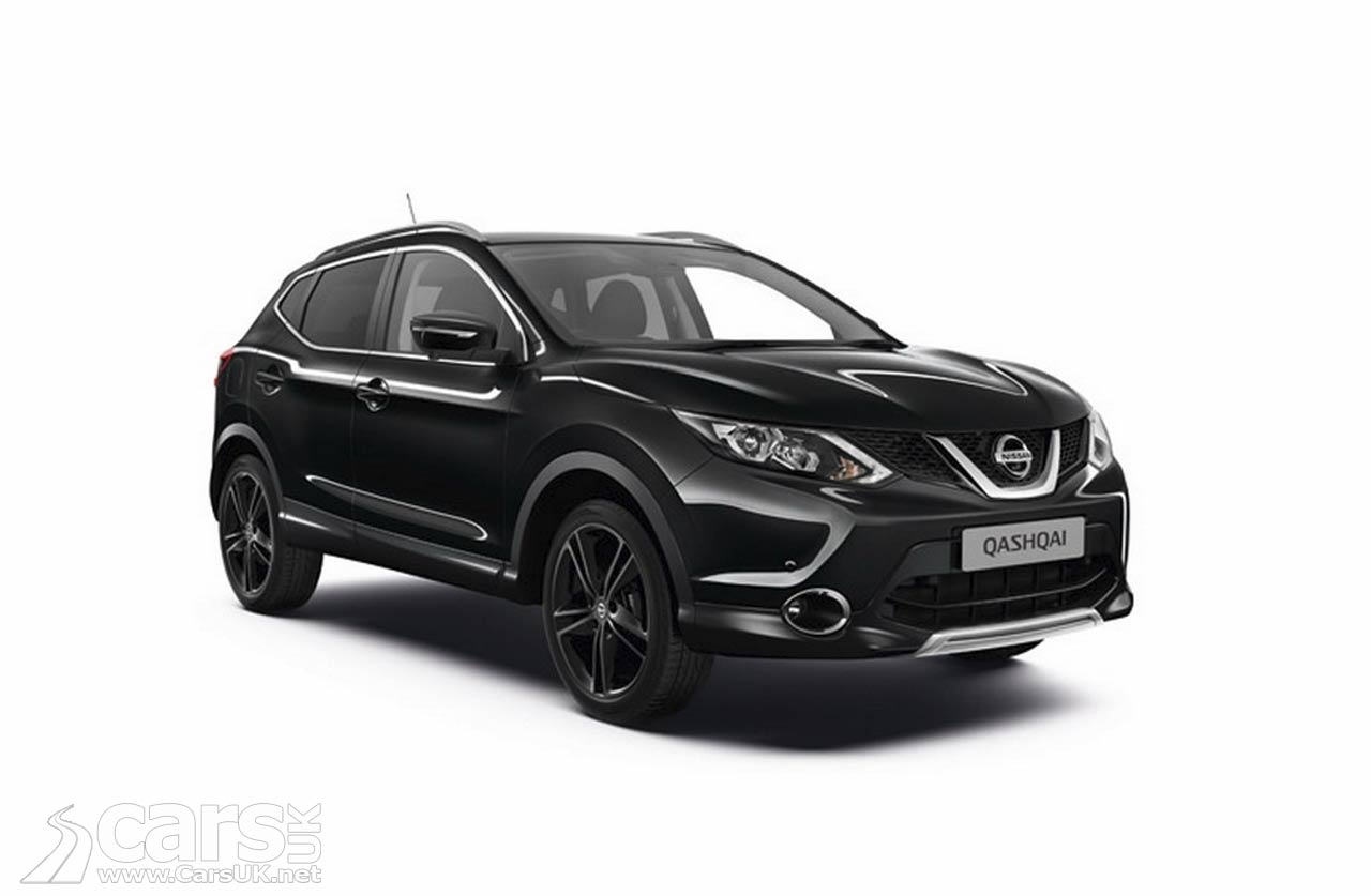 nissan qashqai black edition sv the first new qashqai special version arrives cars uk. Black Bedroom Furniture Sets. Home Design Ideas
