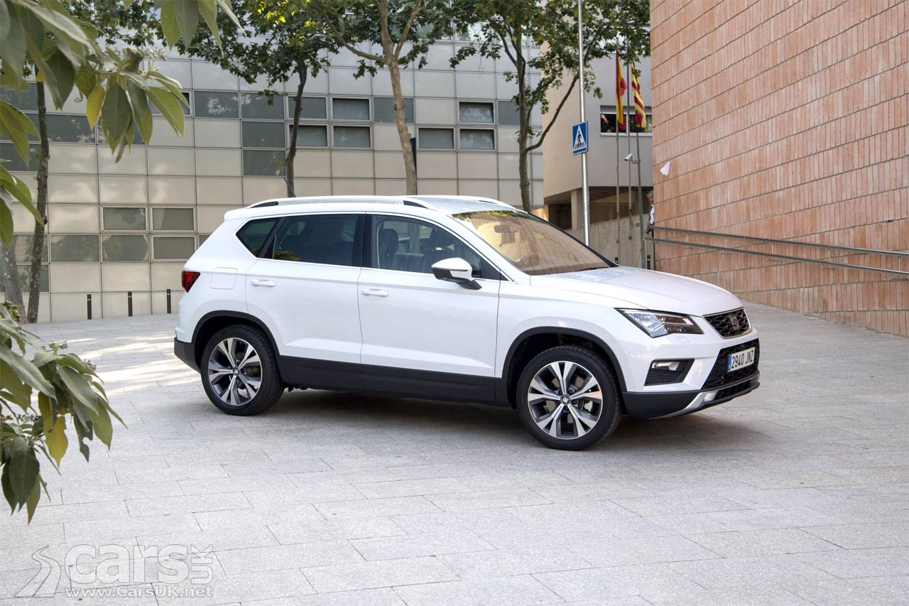 the new seat ateca seat 39 s first suv gets class leading. Black Bedroom Furniture Sets. Home Design Ideas