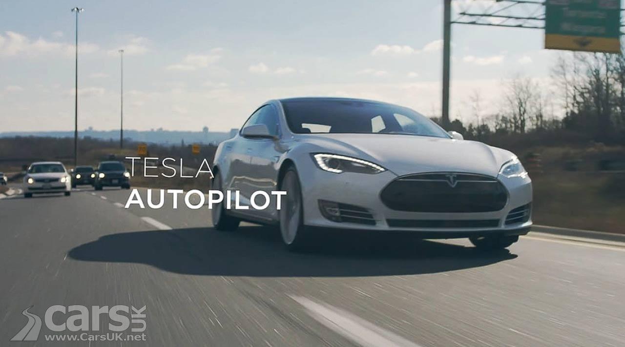 Photo Tesla Model S Autopilot