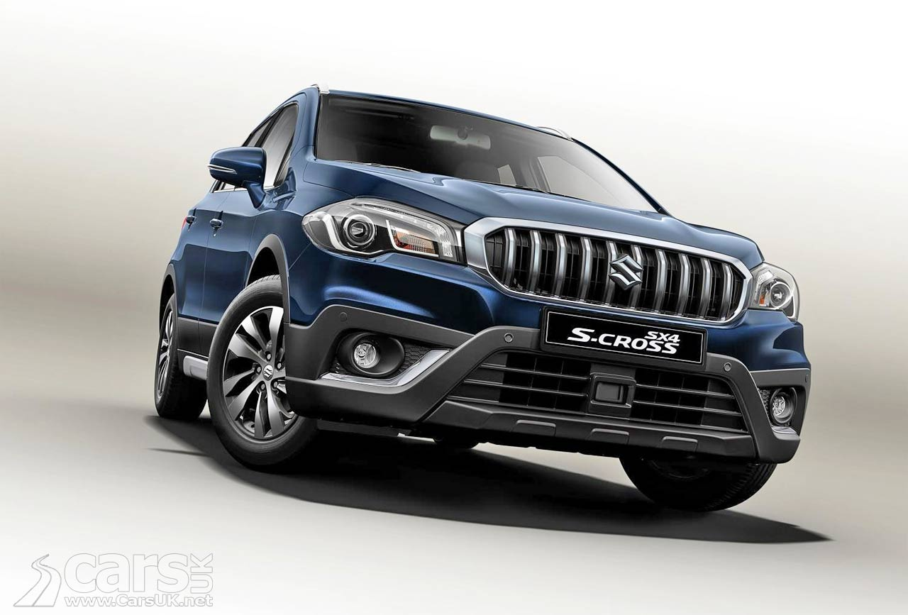 2017 suzuki sx4 s cross facelift heading for a debut at. Black Bedroom Furniture Sets. Home Design Ideas