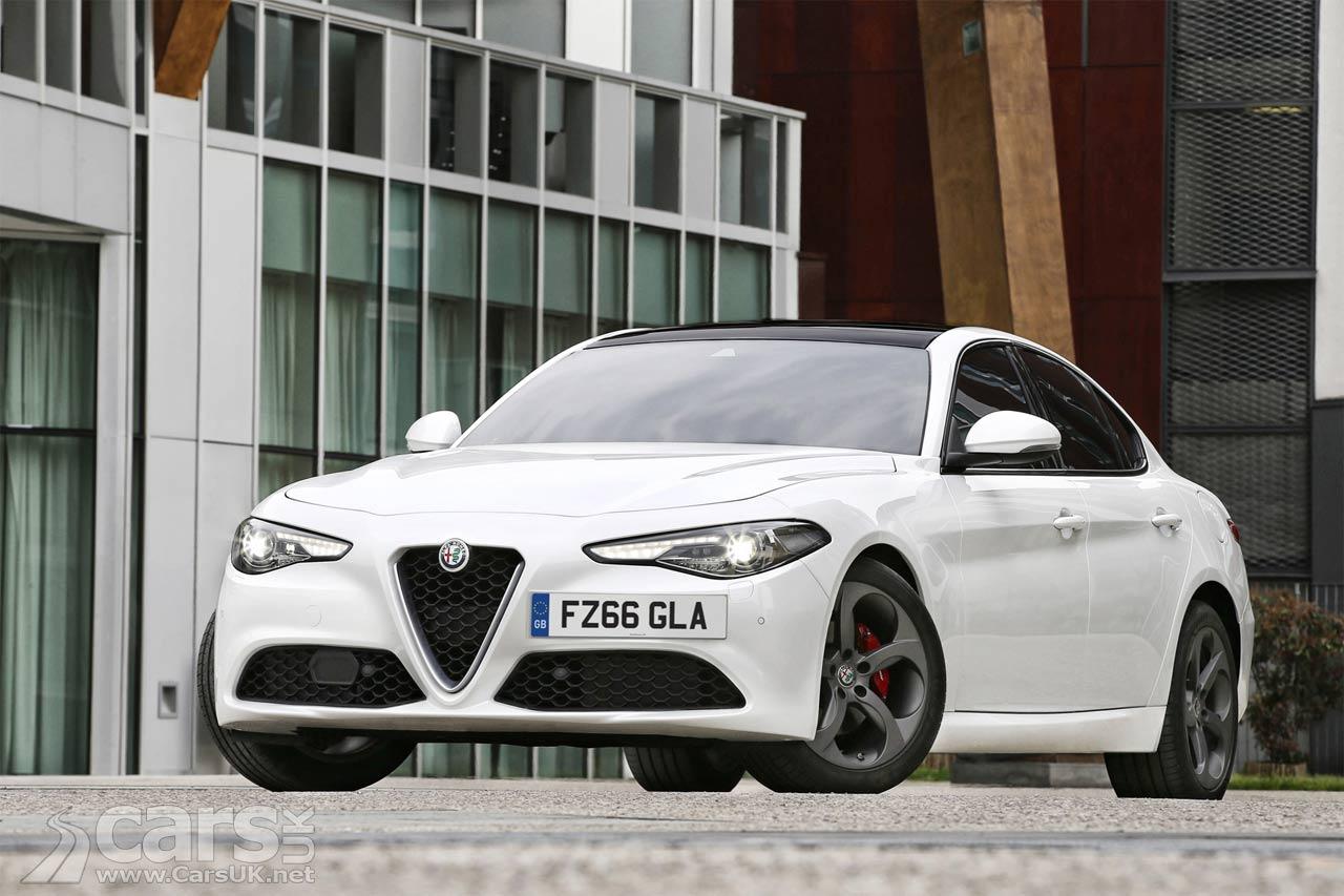 Alfa Romeo Giulia priced from £29180