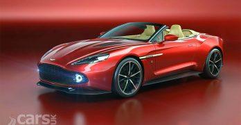 Aston Martin Vanquish Zagato Volante revealed – the Vanquish Zagato drops its top