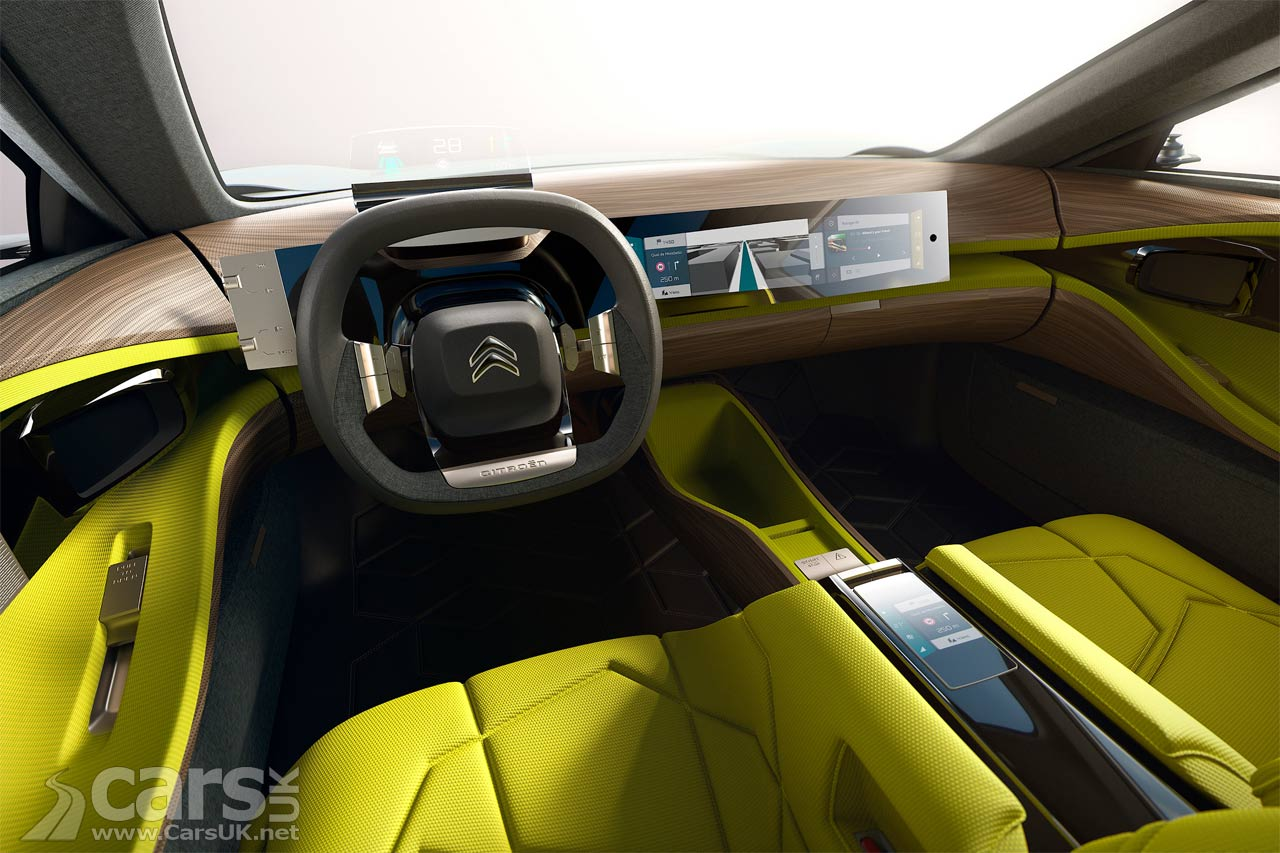 citroen cxperience concept citroen imagine a future hybrid family car cars uk. Black Bedroom Furniture Sets. Home Design Ideas