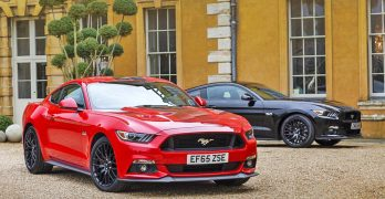 Ford Mustang is the UK's FAVOURITE performance Coupe