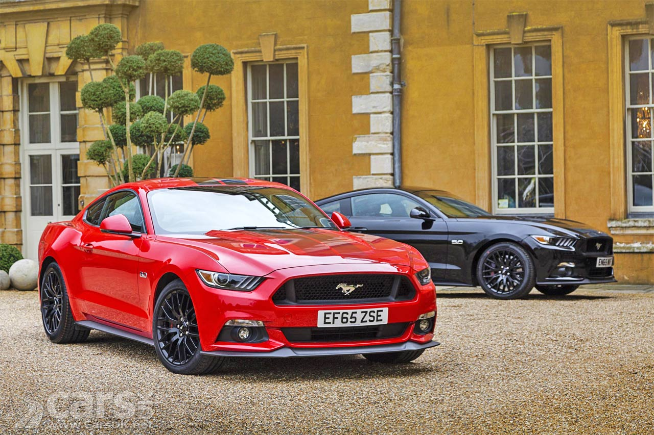 New Ford Mustang UK Production Starts