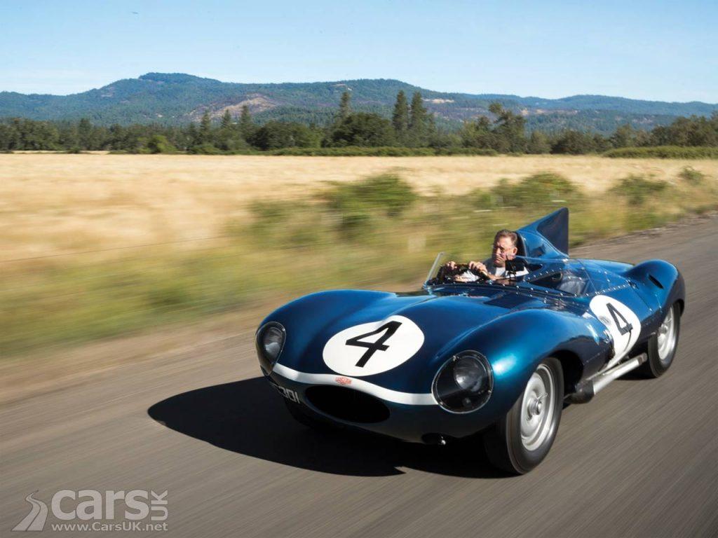 Photo Jaguar D-Type XKD 501