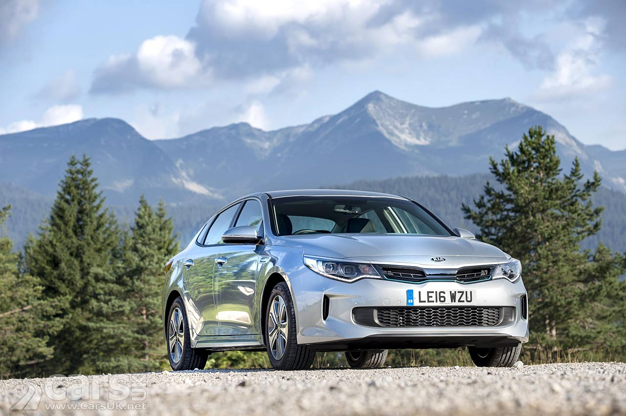 kia optima phev plug in hybrid launches in the uk priced from 33 995 cars uk. Black Bedroom Furniture Sets. Home Design Ideas