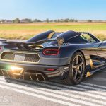 Koenigsegg Agera RS Naraya – the 'Golden' Agera RS – heads for Salon Prive