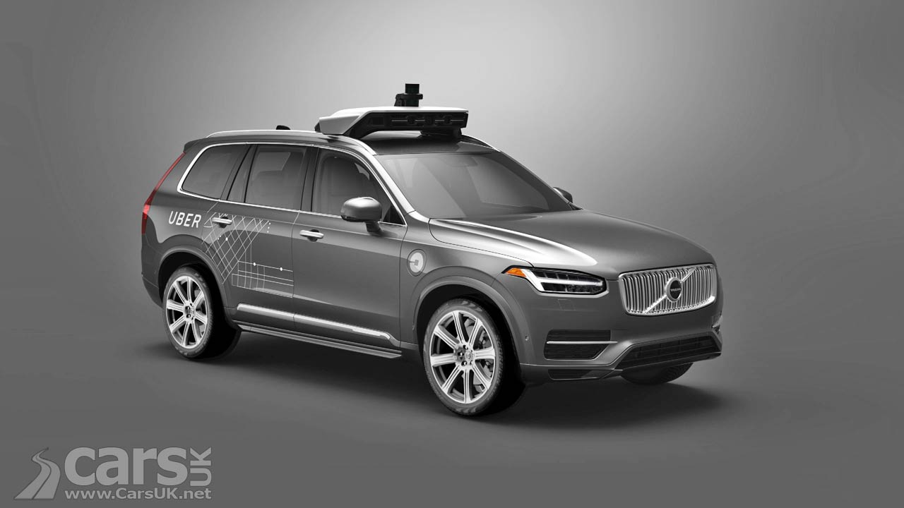 Volvo XC90 is Uber's autonomous taxi in an Uber and Volvo Joint Venture | Cars UK