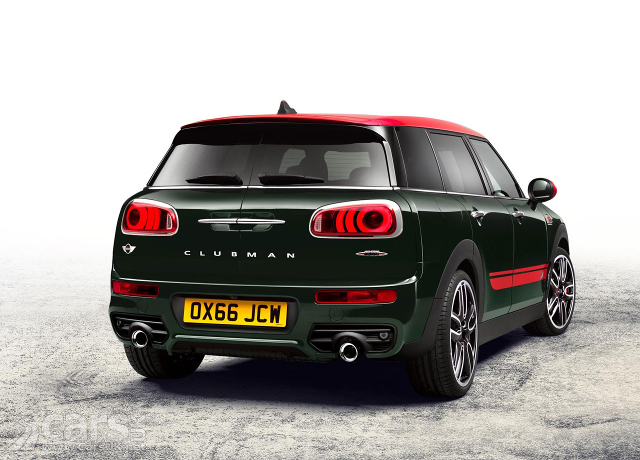 mini john cooper works clubman arrives perfect for moving small sheds quickly mini jcw. Black Bedroom Furniture Sets. Home Design Ideas