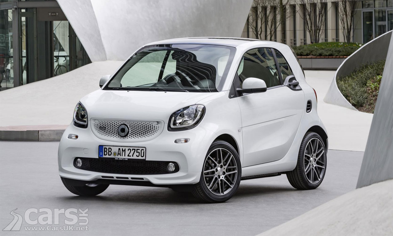 Smart brabus range costs from 16 320 to 20 610 in the uk for Smart price