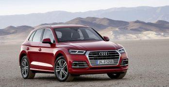 2017 Audi Q5 revealed in Paris looking just like a cheaper Audi Q7