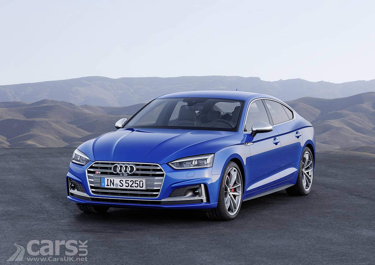 New car design audi a5 coupe - New 2017 Audi A5 Sportback S5 Sportback Revealed But Can You Tell