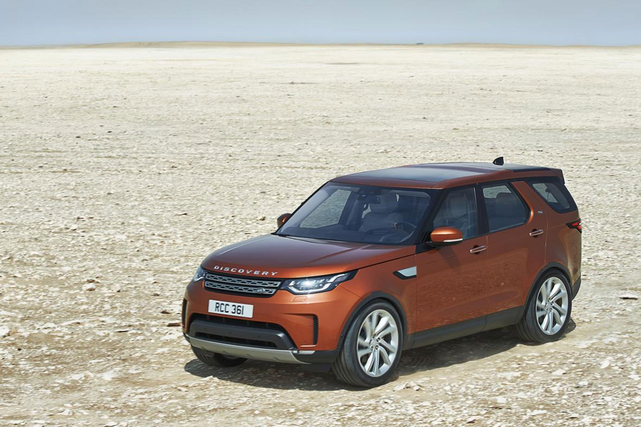 new 2017 land rover discovery officially revealed priced from 43 495 cars uk. Black Bedroom Furniture Sets. Home Design Ideas