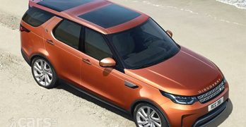 2017 Land Rover Discovery '5' appears a bit sooner than Land Rover planned