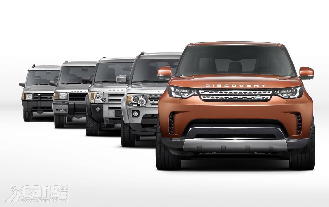 new 2017 land rover discovery revealed discovery 5 debuts in paris cars uk. Black Bedroom Furniture Sets. Home Design Ideas