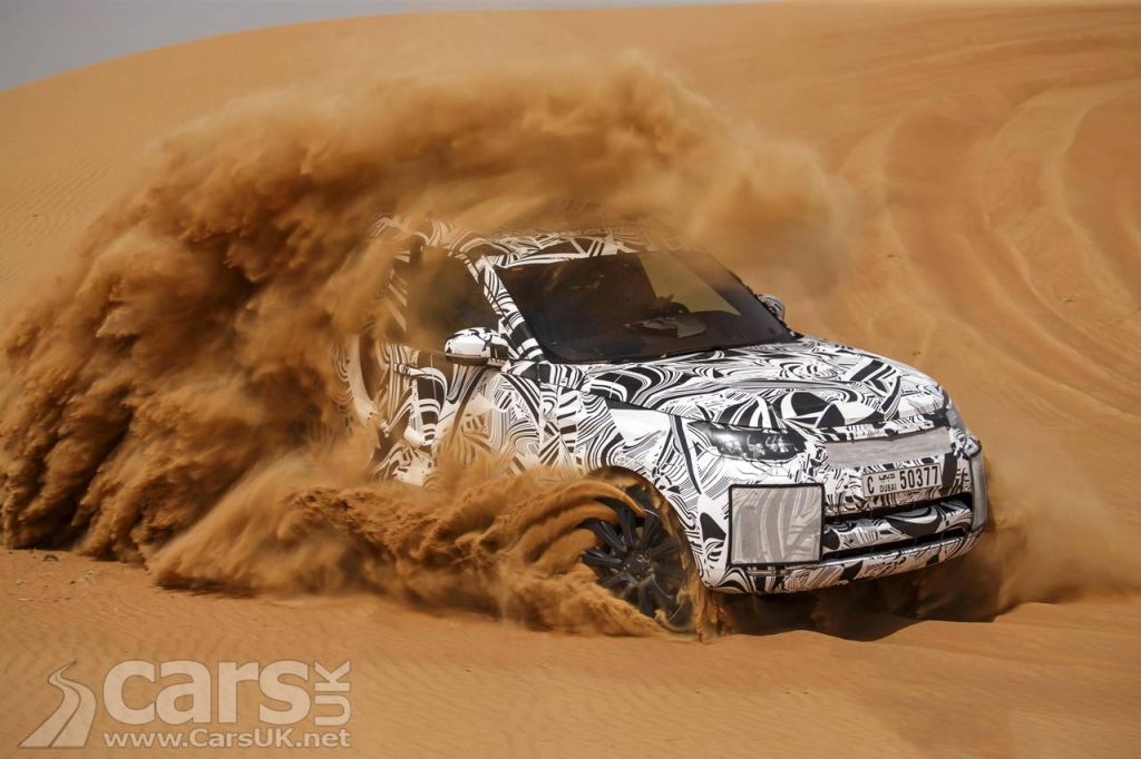 Photo 2017 Land Rover Discovery Testing