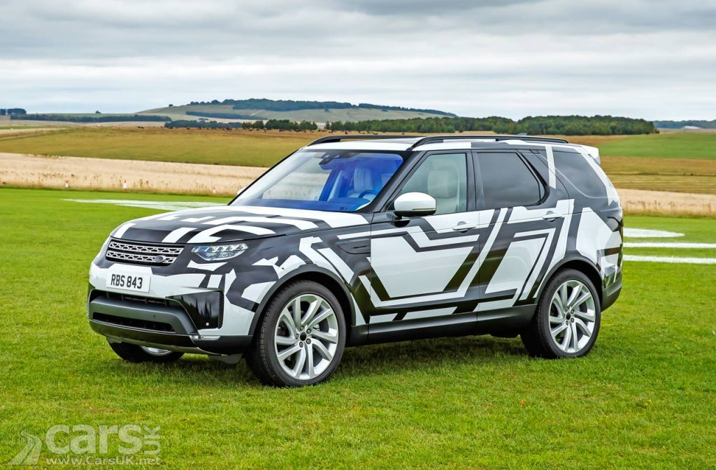 Photo9 2017 Land Rover Discovery gets Intelligent seats