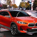 BMW X2 Concept at Paris previews a production X2 as a sporty X1