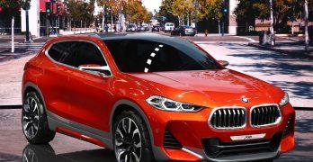 BMW X2 Concept at Paris previews a production X2 as a sporty X1