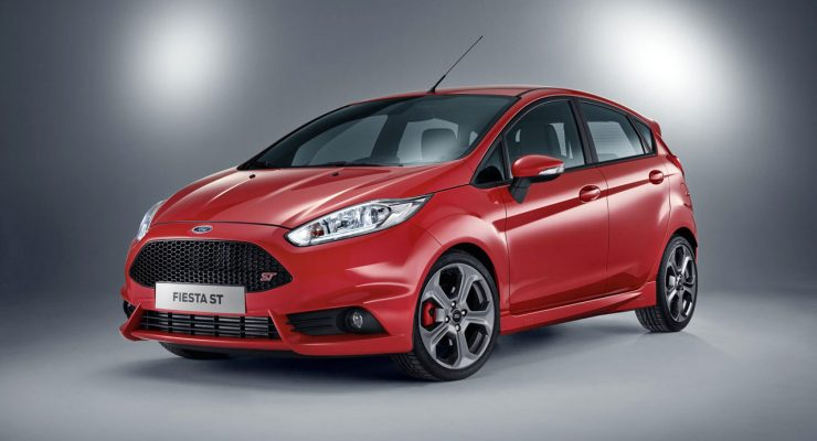 Photo five-door Ford Fiesta ST