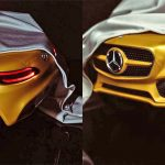 Mercedes-AMG tease a new car for Paris – and it could be an electric AMG Crossover