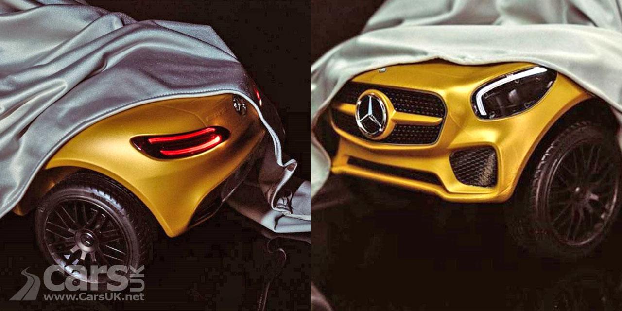 Photo Mercedes-AMG tease a new car for Paris 2016