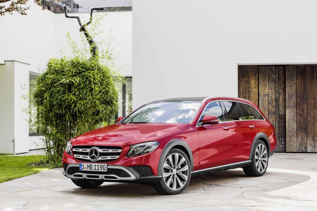 Photo New Mercedes E-Class All Terrain