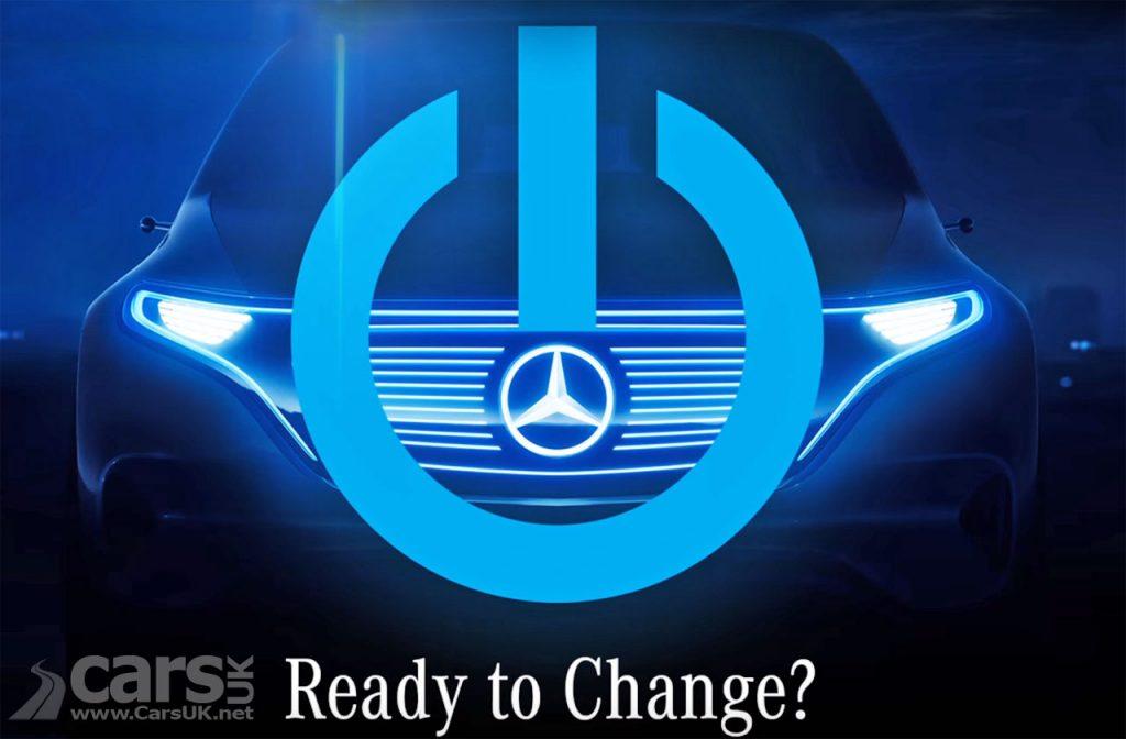 Photo Mercedes Electric 'EQ' Concept tease