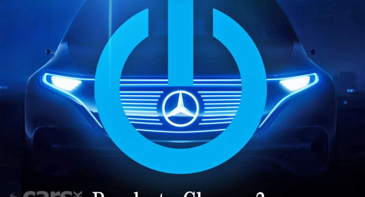 Photo Mercedes Electric 'EQ' Concept tease