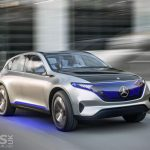 Mercedes-Benz Generation EQ electric SUV concept glides in to Paris