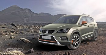 SEAT Ateca X-Perience – an Ateca for going off-road, say SEAT