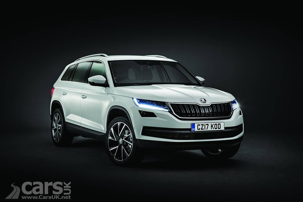 New Skoda Kodiaq SUV: First full pictures, pricing and specs
