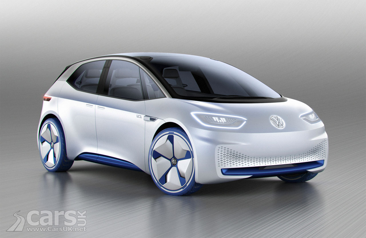 VW ID Electric Car Concept is Volkswagen's no diesel ...