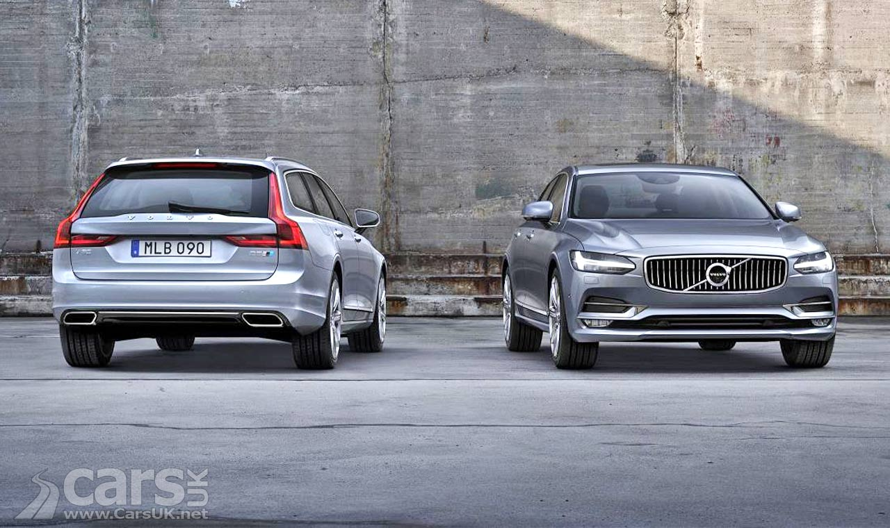 New Volvo S90 & V90 get POLESTAR Performance Package option | Cars UK