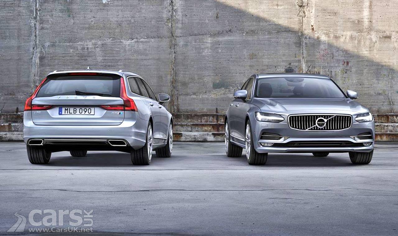 New Volvo S90 & V90 get POLESTAR Performance Package option   Cars UK