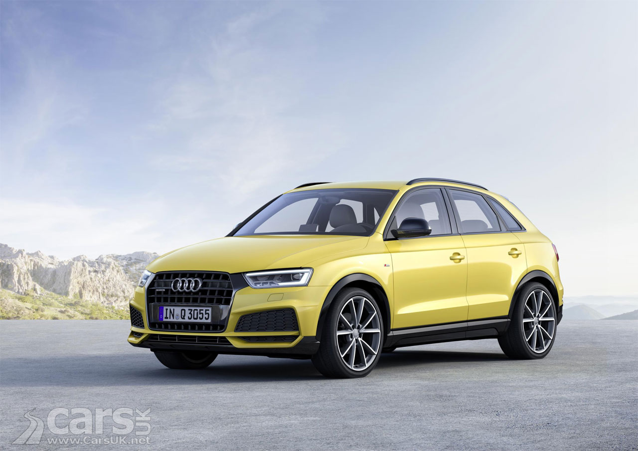 audi q3 compact suv range titivated for 2017 and new q3 black edition costs from 26 600 cars uk. Black Bedroom Furniture Sets. Home Design Ideas