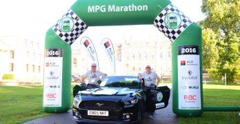 New Ford Mustang with 5.0 litre V8 WINS fuel economy award