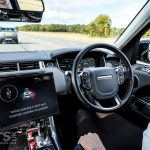 Jaguar Land Rover & Ford jointly developed autonomous technology on show